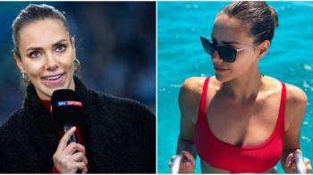 """Prezentatoarea care i-a scos din sarite pe fanii lui Bayern: """"Joaca taranii!"""" Eroarea care a produs isterie. FOTO"""