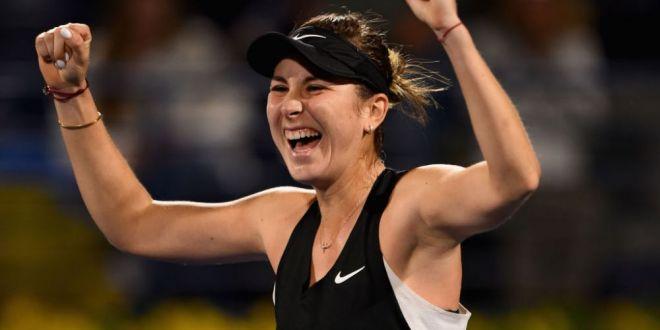 TURNEUL DE LA DUBAI | Belinda Bencic a facut inca o victima din TOP 10 si s-a calificat in finala! Surpriza produsa astazi
