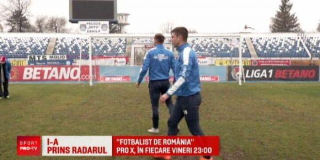 Fotbalist de Romania  a ajuns la proba radarului! Vezi cine a castigat vineri seara, ora 23:00