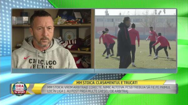 "MM Stoica: ""Clasamentul e TRUCAT! Nu e normal sa nu fim pe primul loc!"" Episod incredibil la meciul cu Chiajna"