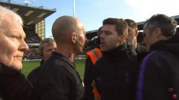 Tensiune in Premier League! Pochettino, la un pas de bataie cu Mike Dean! Ce s-a intamplat cu antrenorul lui Tottenham!