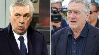 Clauza traznita in contractul lui Ancelotti: patronul lui Napoli e obligat sa i-l prezinte pe De Niro :)