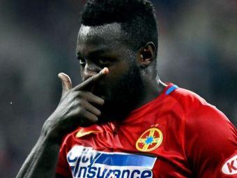 Motivul REAL pentru care Gnohere a fost lasat pe banca in meciul cu Craiova! Planul lui Becali: pregateste o dubla lovitura la FCSB