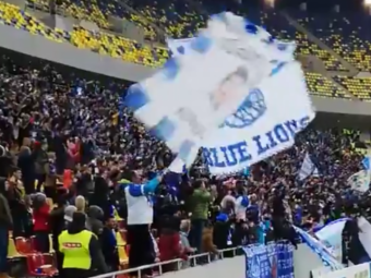 FCSB - CRAIOVA   A explodat Arena Nationala! Bucuria nebuna a oltenilor la golul lui Pigliacelli   VIDEO