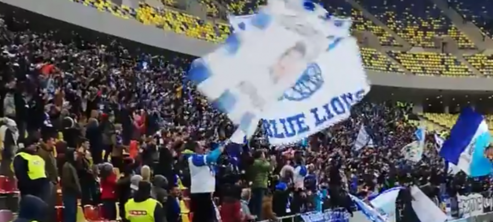 FCSB - CRAIOVA | A explodat Arena Nationala! Bucuria nebuna a oltenilor la golul lui Pigliacelli | VIDEO
