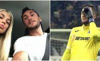 Pigliacelli se iubeste cu WANDA de Romania! Cum a trait iubita italianului penalty-ul marcat cu FCSB! FOTO