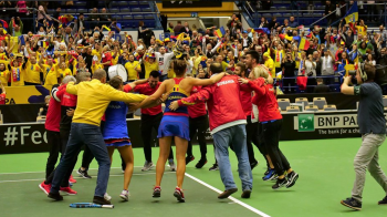 OFICIAL! Veste buna pentru Romania inainte de semifinala Fed Cup: francezii au ales suprafata pe care se va juca la Rouen