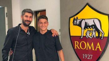 Transfer rasunator! Gica Hagi il transfera pe fiul unui fost mare international roman! A jucat la AS Roma si CFR Cluj!