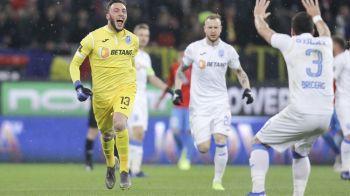"""""""Ma gandeam sa dau scarita!"""" Italienii au aflat de NEBUNIA lui Pigliacelli de la derby! Dezvaluirea portarului: ce i-a spus Balgradean inainte de penalty"""