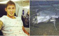 """Noi imagini cu EPAVA avionului in care a murit Emiliano Sala! """"Pilotul a facut erori de incepator!"""" FOTO"""