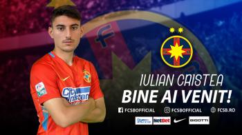 "Iulian Cristea, prezentat OFICIAL la FCSB: ""De mic visez sa ajung aici"" Ce numar va purta"