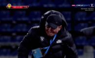 UNIC in Romania! Reactia IREALA a lui Hagi dupa golul decisiv al lui Eric! A luat-o la fuga spre banca adversa! Ce a facut in fata lui Miriuta