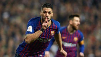 BARCA RECORDURILOR! Catalanii, o noua cifra spectaculoasa in acest sezon: ce au reusit odata cu golul de 3-0 al lui Suarez in semifinala cu Real