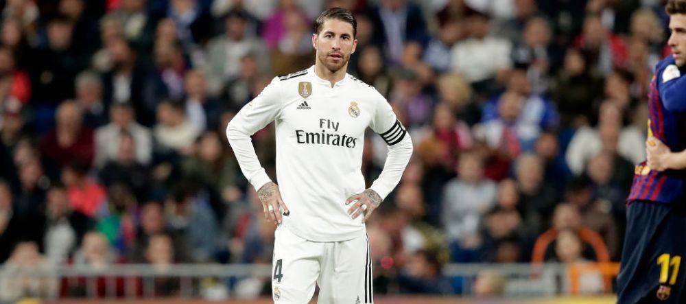 REAL MADRID - BARCELONA 0-3 | Reactia lui Sergio Ramos dupa UMILINTA cu Barca! Ce mesaj le-a transmis fanilor