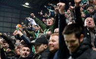 """Scandarea BOLNAVA a fanilor lui Celtic! Ce au putut sa cante la ultimul meci: """"Speram sa MORI in somn!"""""""