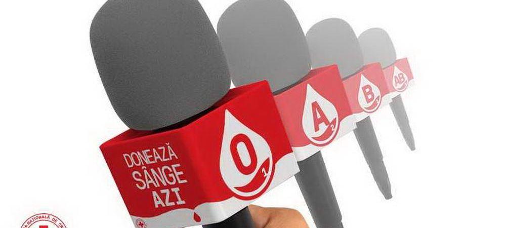 Microfoanele jurnalistilor - voce pentru nevoia de sange in Romania