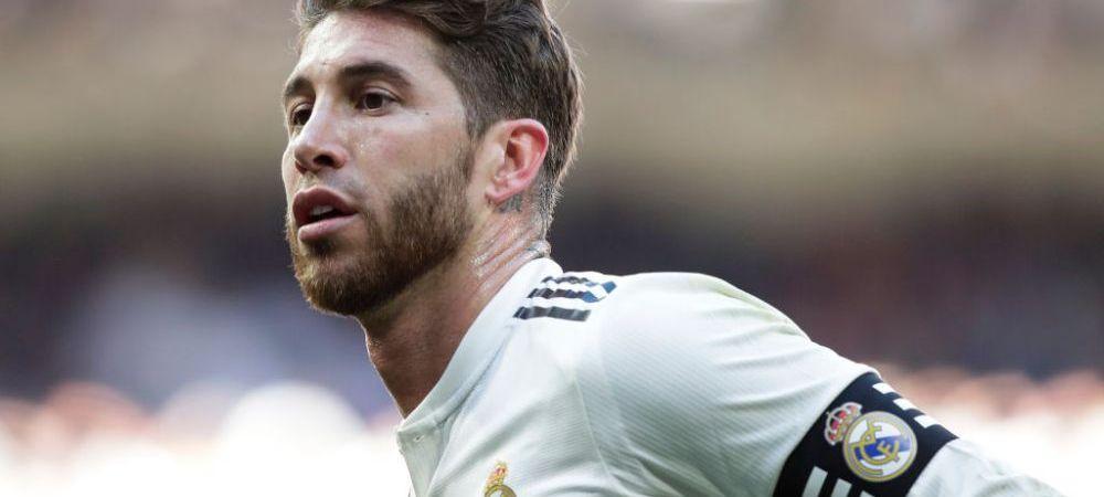 BREAKING NEWS | Sergio Ramos, pedepsit aspru de UEFA pentru ca a luat galben intentionat cu Ajax! Cate etape va sta pe bara