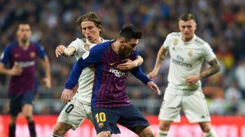 """Galacticii"", ironizati de Barcelona dupa umilinta din El Clasico! Mesajul viral postat de Barcelona dupa ce Modric a incercat sa-l faulteze pe Messi | FOTO"