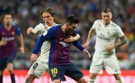 """Galacticii"", ironizati de Barcelona dupa umilinta din El Clasico! Mesajul viral postat de Barcelona dupa ce Modric a incercat sa-l faulteze pe Messi   FOTO"