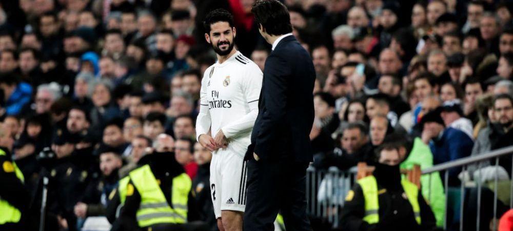Real Madrid - Barcelona | Cuvintele SURPRINZATOARE ale lui Solari la adresa lui Isco inainte de El Clasico! Antrenorul a facut anuntul
