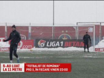 """I-ai spus unde sa se duca!"" Penalty-uri ca la FIFA pe terenul de fotbal | Fotbalist de Romania, la Pro X la 23.00"