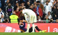 REAL - BARCA | Gest SOCANT al lui Sergio Ramos! I-a SPART NASUL lui Messi, arbitrul n-a dat nimic! Faza care a aruncat in aer El Clasico
