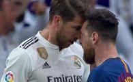 I s-a umflat VENA si a vrut sa se duca dupa Ramos! Moment INCREDIBIL in finalul reprizei in El Clasico! Reactia lui Messi dupa gestul capitanului de la Real