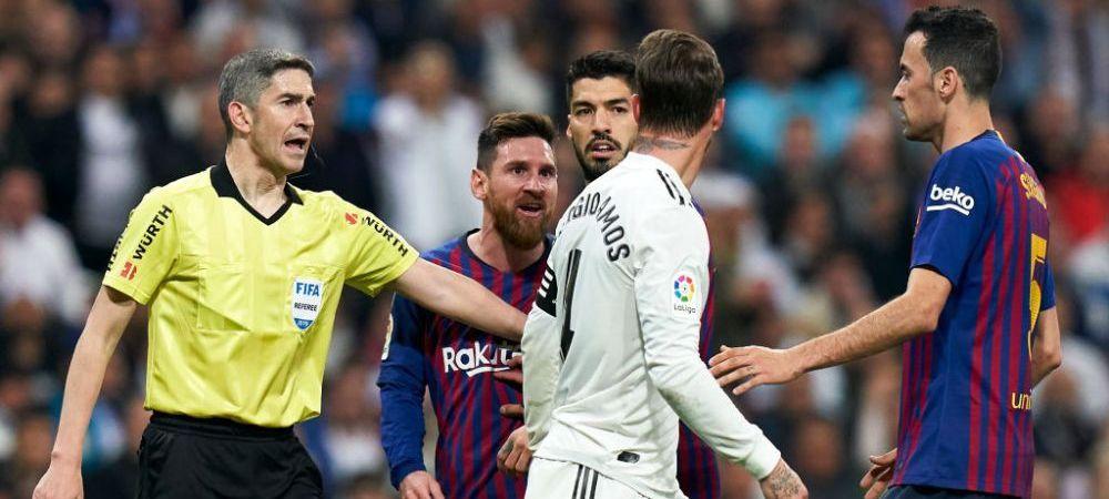 S-A AFLAT! Ce i-a zis Messi lui Ramos dupa faza care a aruncat in aer El Clasico: starul Barcelonei a urlat la capitanul Realului