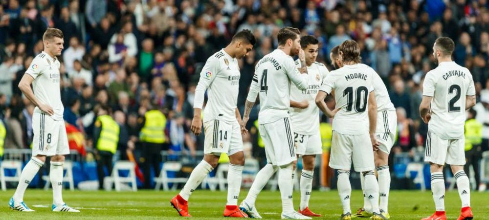 RECORDUL NEGATIV egalat de Real Madrid dupa El Clasico! Nu se mai intamplase de 9 ani: cifre dezastruoase pentru echipa lui Solari