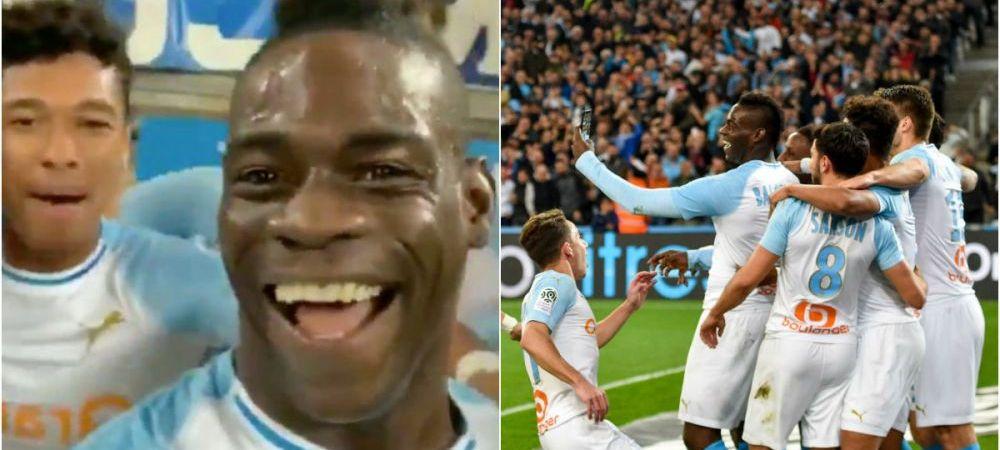 VIDEO DEMENTIAL: A dat gol, apoi i-a cerut telefonul unui om de pe margine! Bucuria nebuna a lui Balotelli dupa reusita de aseara