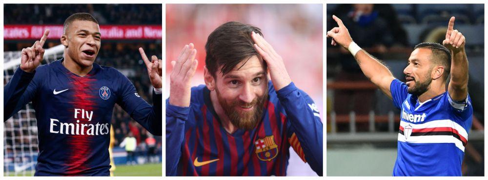 La 1 de locul 1! Mbappe s-a apropiat la un singur gol de Messi,