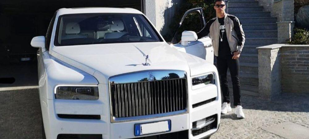 """CR23. Ronaldo a """"spart"""" o avere pe inca o masina incredibila si are un garaj cu adevarat impresionant. Cum arata cele mai tari masini ale sale"""