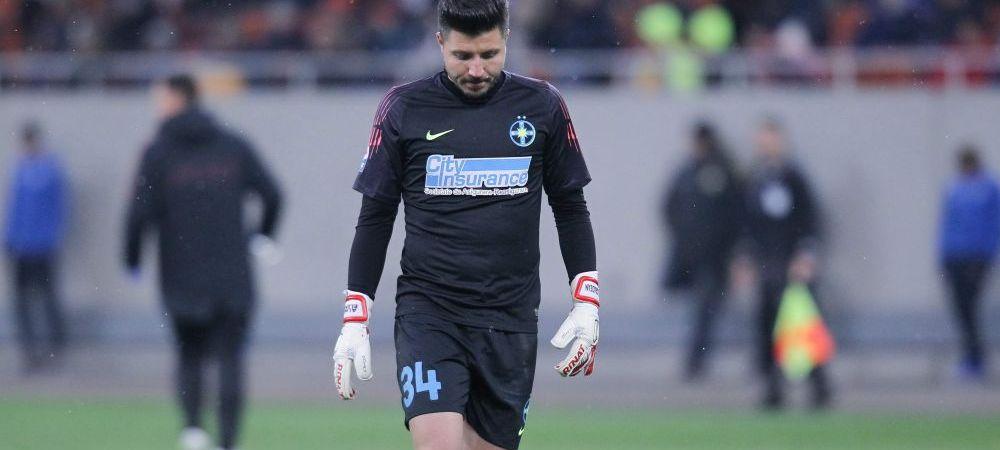 O TEAVA de gaz pentru Balgradean! Povestea celui mai ciudat transfer pentru portarul lui FCSB