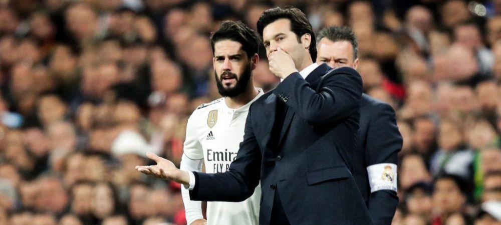 "Isco, singur in conflictul cu antrenorul! Colegii de la Real Madrid nu il sustin! ""Solari este corect cu toti jucatorii"""
