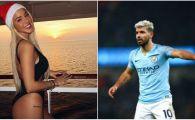"""Aguero a divortat de fiica lui Maradona pentru alta fiica de fotbalist! E actrita in """"Neveste disperate"""" din Anglia. FOTO"""