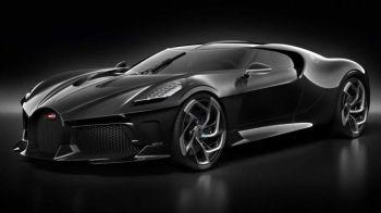 "FOTO ULUITOR | ""Masina Neagra"", supercar UNICAT prezentat de Bugatti: se construieste un singur model si are un PRET RECORD"