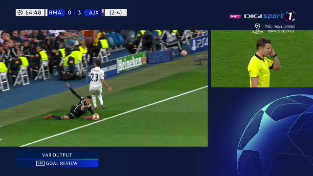 Nici VAR-ul n-a salvat Realul! Aproape de prima eliminare dupa 4 ANI din UEFA Champions League! Faza IMPOSIBILA pentru arbitru