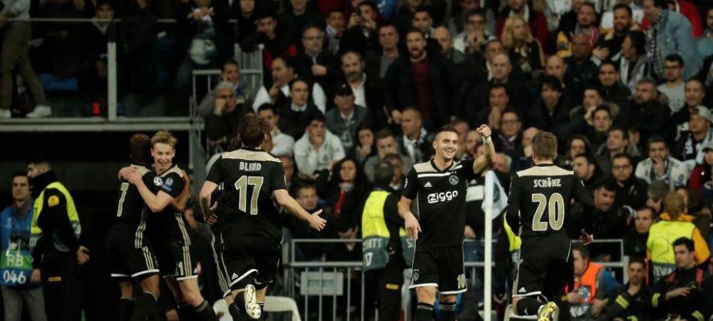 REAL MADRID - AJAX | Nici VAR-ul n-a salvat Realul! Prima eliminare din UEFA Champions League dupa 4 ani! Faza IMPOSIBILA pentru arbitru