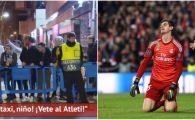 """""""Nu poti sa opresti nici macar un taxi! PLEACA la Atletico"""" Courtois, ATACAT de fani dupa umilinta istorica a Realului! VIDEO"""