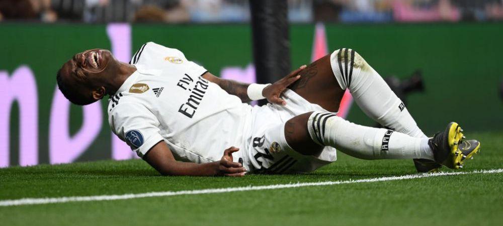 E mai grav decat se credea! Veste teribila pentru Vinicius dupa meciul de cosmar cu Ajax: cat va lipsi noul pusti minune al Realului