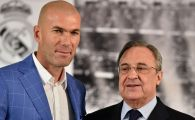 Perez l-a SUNAT pe Zidane si i-a propus sa revina la Real Madrid! ULTIMA ORA: Ce raspuns a dat francezul!