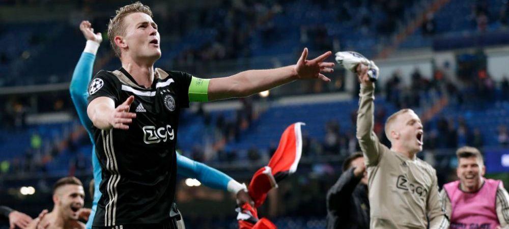 """""""Sunt jucatori din Liga 1 pe lista lui Ajax! Un jucator de la Viitorul va ajunge acolo!"""" Anuntul BOMBA al lui Ogararu dupa victoria lui Ajax cu Real Madrid"""