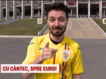 """Castigatorul de la Vocea Romaniei vrea sa duca nationala la Euro 2020: """"Sunt fanul numarul 1!"""" Ce cadou i-a facut Cosmin Contra"""