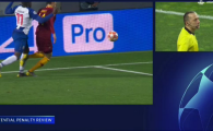 Uite VAR-ul, nu e VAR-ul! Turcul Cakir a dat penalty pentru Porto cu VAR in minutul 117! Pentru Roma a refuzat sa vada reluarea la penalty-ul cerut in minutul 121