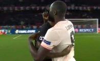 Asta inseamna sa ai clasa! Gestul facut de Lukaku, autor al unei duble cu PSG, in timp ce colegii sai se bucurau pe Parc des Princes!