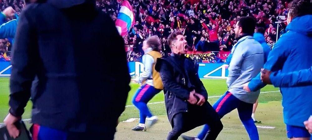 N-a scapat de amenda, dar a intrat in LEGENDA! Cat plateste Simeone pentru bucuria obscena de la meciul cu Juventus