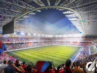 Stadionul Steaua, sanse mari sa fie GATA pentru EURO 2020! Cat s-a construit pana acum in Ghencea. VIDEO