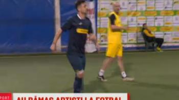 Radoi, selectionerul unei echipe cu jucatori din Atletico Textila! Au sarit scantei: un jucator a facut entorsa! VIDEO