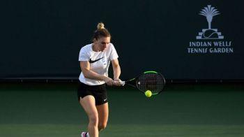 SIMONA HALEP INDIAN WELLS | S-a stabilit ora de start pentru meciul cu Barbora Strycova! Cand se joaca