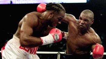 """Pana la revenirea lui Mayweather, boxul poate asista la cea mai tare nebunie! Lennox Lewis il provoaca la 53 de ani pe Mike Tyson: """"Pentru 100 milioane $"""""""